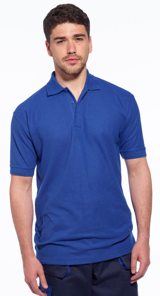 Portwest Naples Polo Shirt B210 lifestyle image royal blue