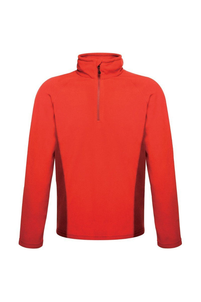 Regatta Standout Unisex Ashmore Half Zip Fleece TRF505 classic red delhi red
