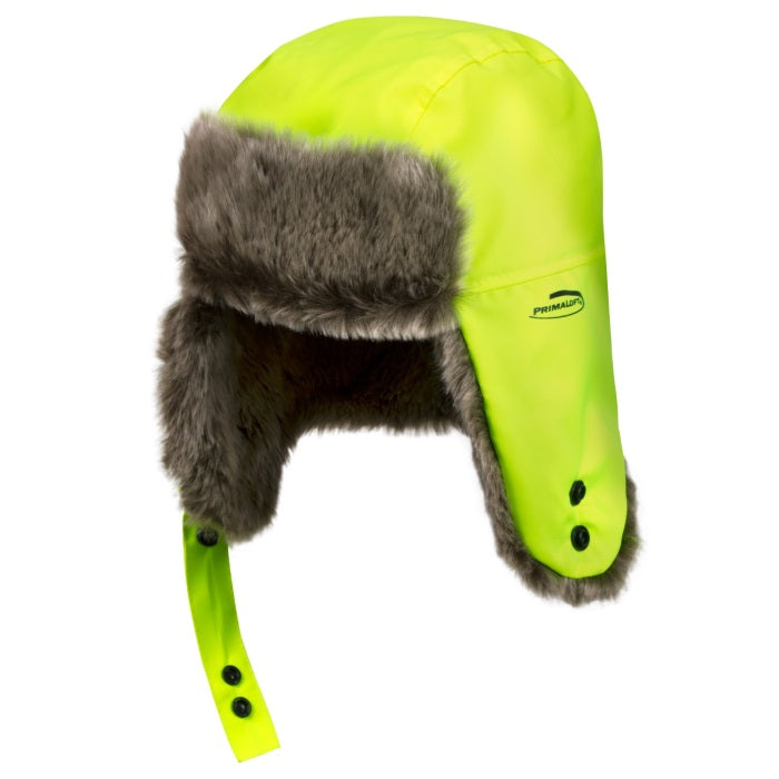 Helly Hansen Boden Hat 79847 yellow Fleece front view facing left