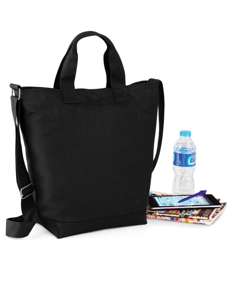 Bagbase Canvas Daybag BG673 Black