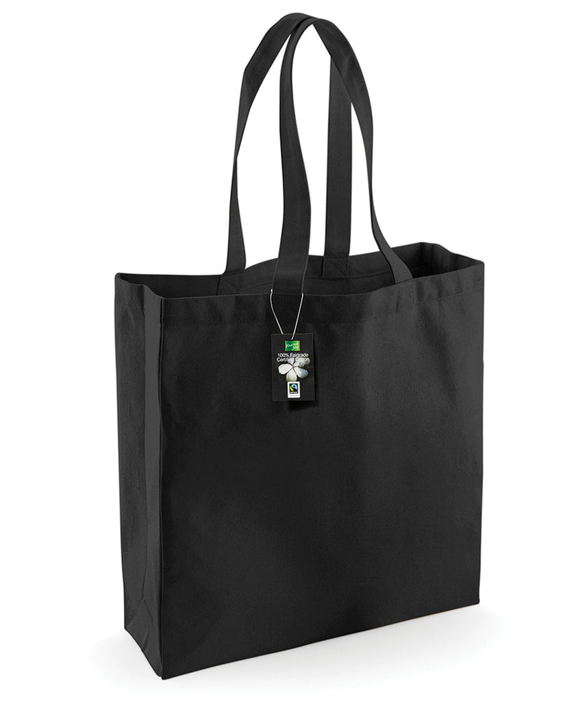 Westford Mill Cotton Classic Shopper W623 Black