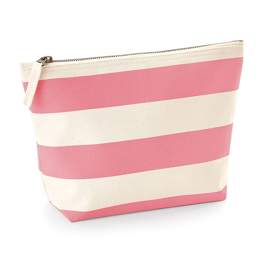 Westford Mill Boardwalk Accessory Bag W684 Natural/ Pink