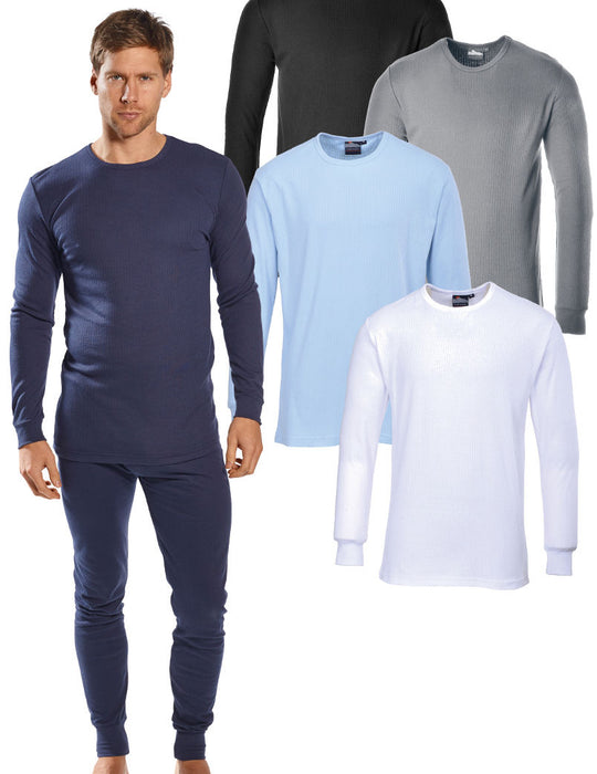 Portwest Thermal T Shirt Long Sleeve B123
