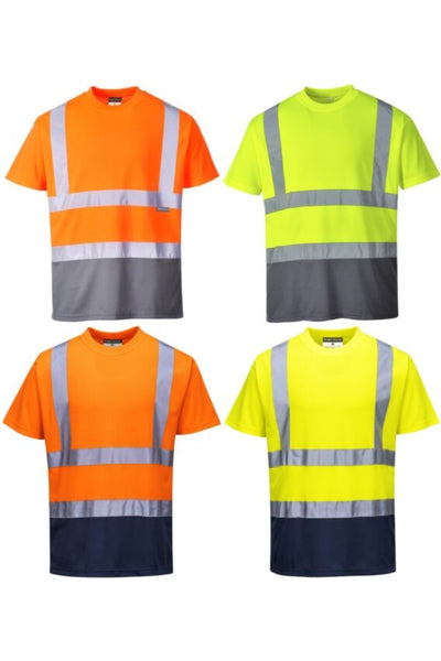 Portwest Two Tone Hi Vis T-Shirt S378