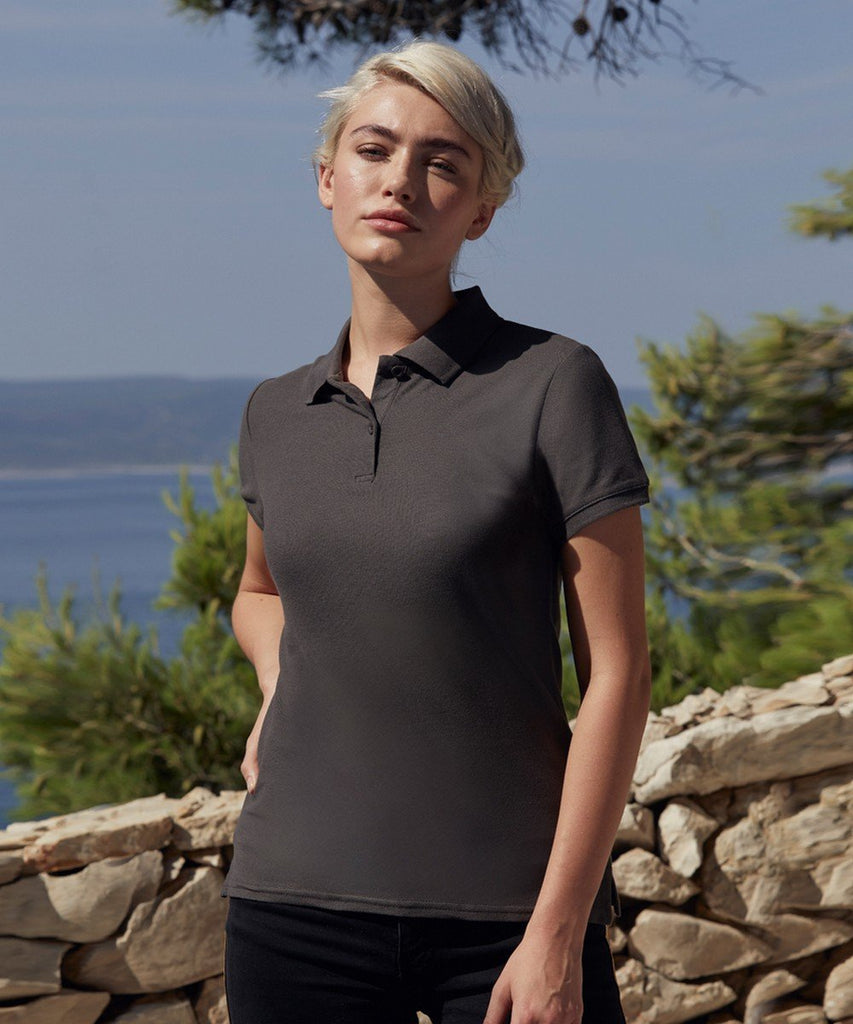 Fruit Of The Loom Premium Lady Fit Polo 63030 lifestyle image light grapgite grey