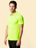 Uneek 140GSM Ultra Cool Polo Shirt UC125 lifestyle image electric green