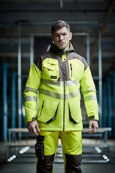 Regatta Professional Tactical Threads Men's Tactical Hi Vis Jacket TRA340 lifestyle image