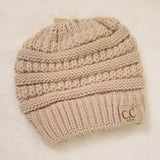 Kids solid Beanie -multiple colors