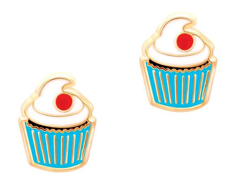 Cupcake earrings