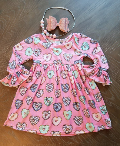Heart donut dress