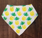 Sweet treats and fun fruity drool bibs (sold separately)