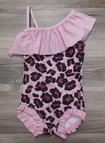 Pink Leopard Swim Suit
