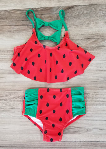 Watermelon 2 piece swimsuit