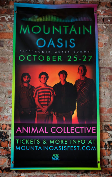Mountain Oasis Animal Collective Banner