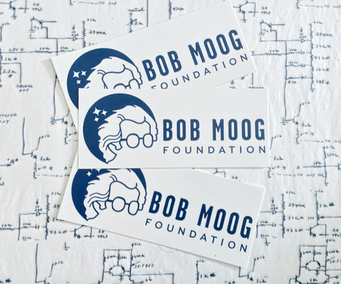Bob Moog Foundation Logo Bumper Sticker