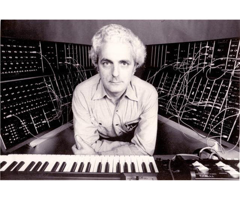Iconic Bob Moog Magnets - Set of 4