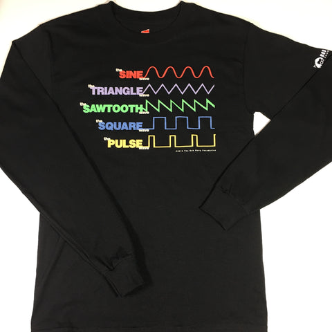 Men's Waveform T-Shirt - Long Sleeve