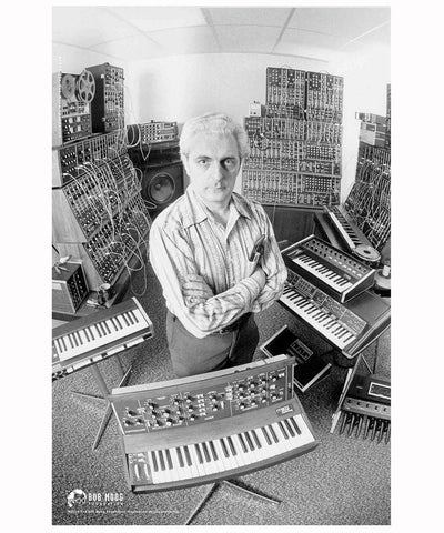 Iconic Bob Moog Posters - Limited Edition