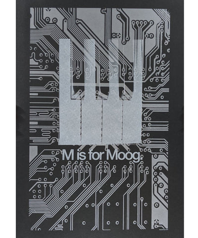 M Is For Moog SynthArt Poster