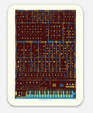 Synth Art Design Color Stickers - Collector's Edition