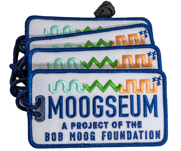 Moogseum Embroidered Luggage Tag