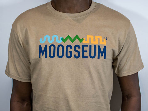 Moogseum Mens Tan T-Shirt