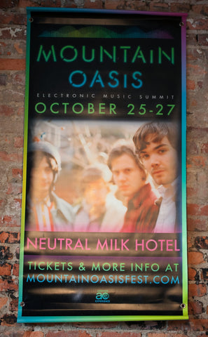 Mountain Oasis Neutral Milk Hotel Banner