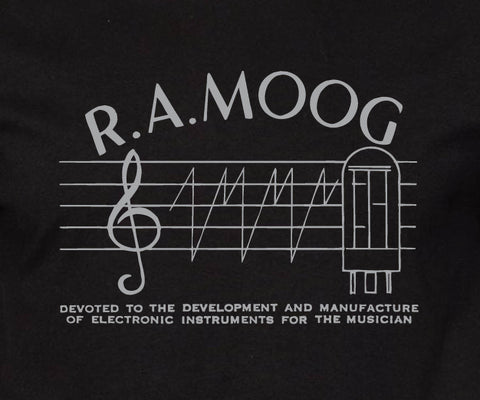 New R.A. Moog Black T-shirt - Men's