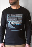 Squarewave To Heaven T-Shirt - Long-Sleeve