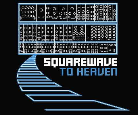 Squarewave To Heaven T-shirt