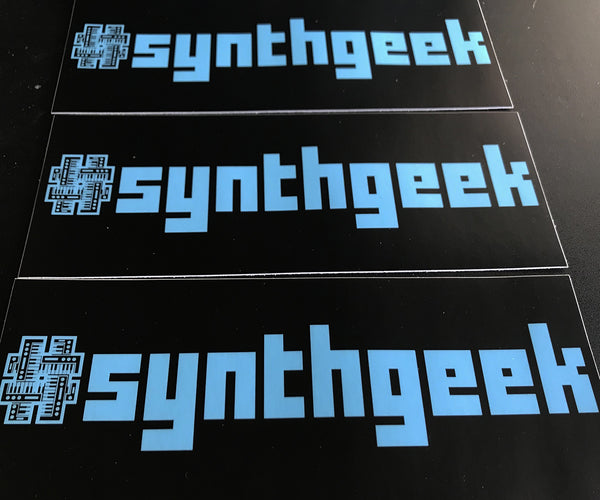 Synthgeek Bumper Sticker