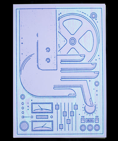 Moogfest 2012 Synth Art Poster Steady Print Shop