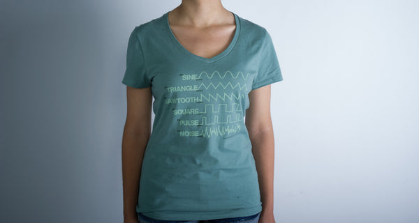 New Waveform T-shirt - Ladies