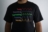 Men's Waveform T-Shirt - Short Sleeve and Long Sleeve
