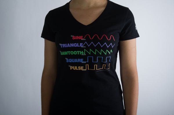 Waveform T-Shirt - Ladies <br><br>