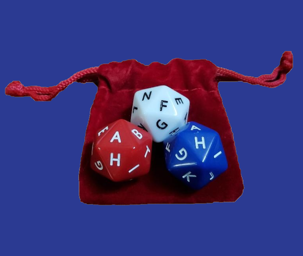 Lettered Dice