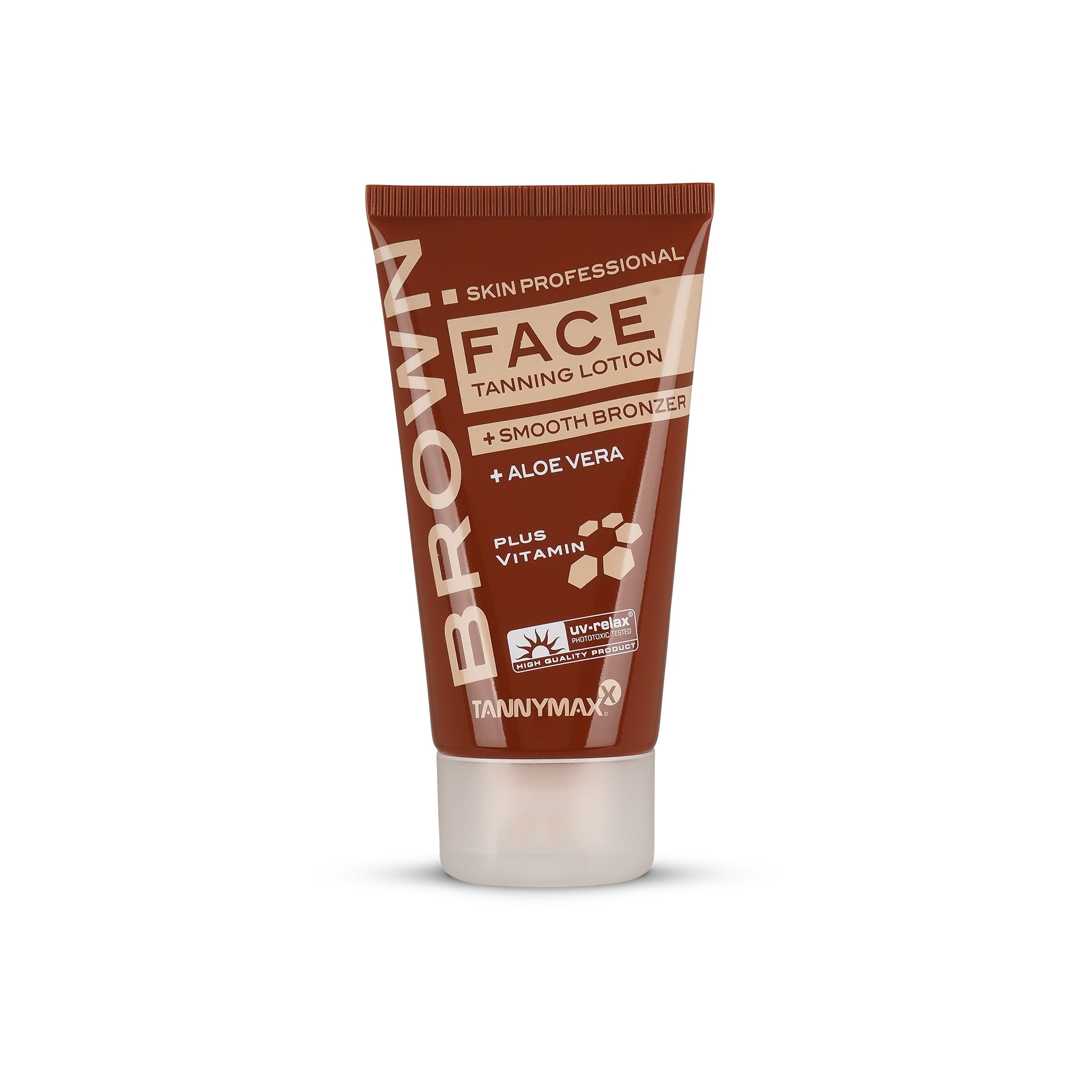 Brown Face Tanning Lotion + Smooth Bronzer