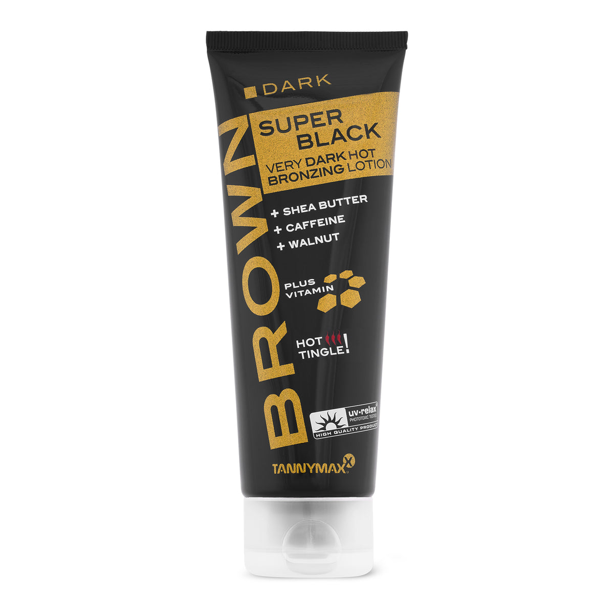 Super Black Very Dark HOT Bronzing Lotion