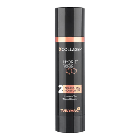 XCollagen 2 Nourishing Moisturizer + Luminous Tan + Natural Bronzer