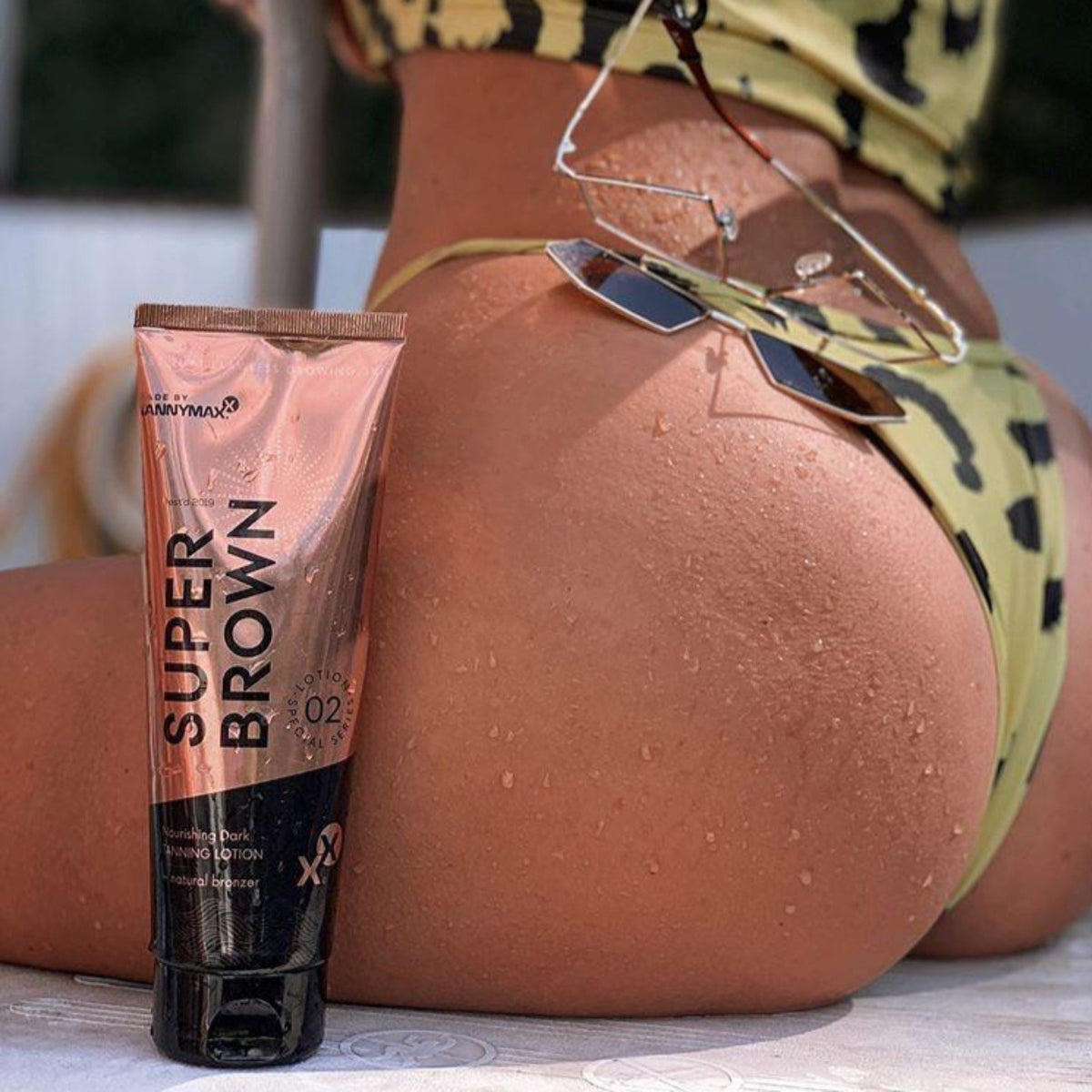 Super Brown Nourishing Dark Tanning Lotion