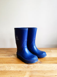Kamik Stomp Rain Boots- Navy | 9 US (Toddler)