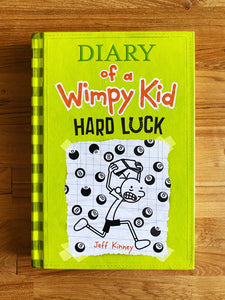 #8- Diary Of A Wimpy Kid: The Last Straw by Jeff Kinney