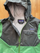 Load image into Gallery viewer, Patagonia Boys' Torrentshell 3L Rain Jacket (Thistle Green) | 12y