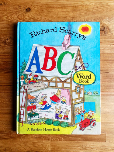 Vintage 1971 Richard Scarry's ABC Word Book | *Rare Item*