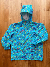Load image into Gallery viewer, MEC Heritage Reflective Rain Jacket- Children (Raindrops) | 6y