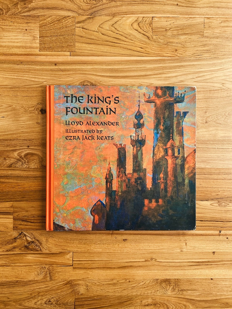 Vintage 1971 The King's Fountain by Lloyd Alexander & Ezra Jack Keats | *First Edition, 1971*