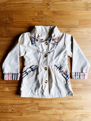 Burberry Girls' Trench Coat | 3-4y