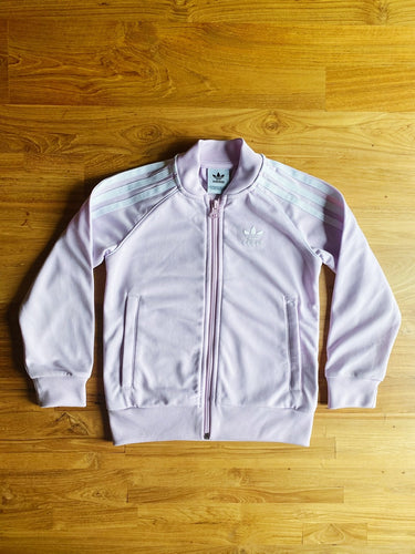Adidas Original Girls' SST Track Top (Lilac) | 4-5y