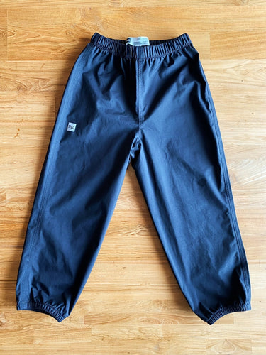 MEC Heritage Rain Pants- Children (Black) | 5y *REPAIRED*