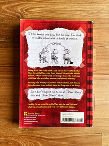 #1- Diary Of A Wimpy Kid (Paperback) by Jeff Kinney